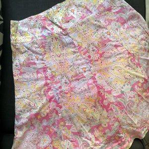 Jones NY floral skirt